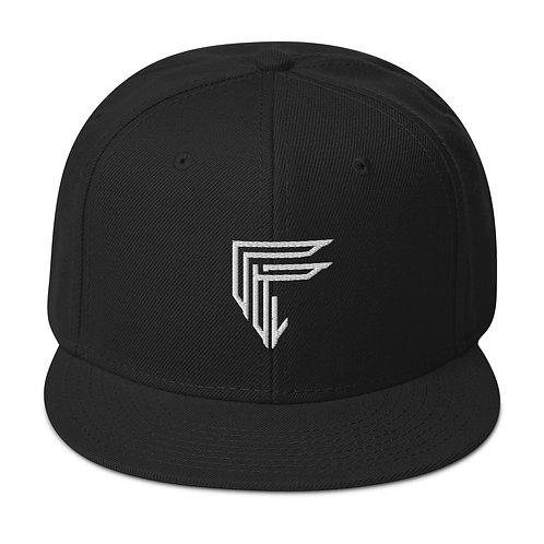 Fresh B & W Snapback Hat