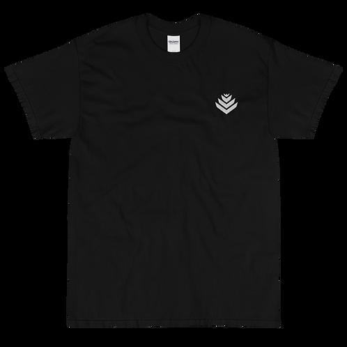 United White Embroidered Short Sleeve T-Shirt