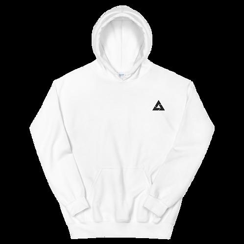 Ace Black Embroidered Unisex Hoodie