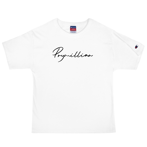 Prymillian Text Men's Champion T-Shirt