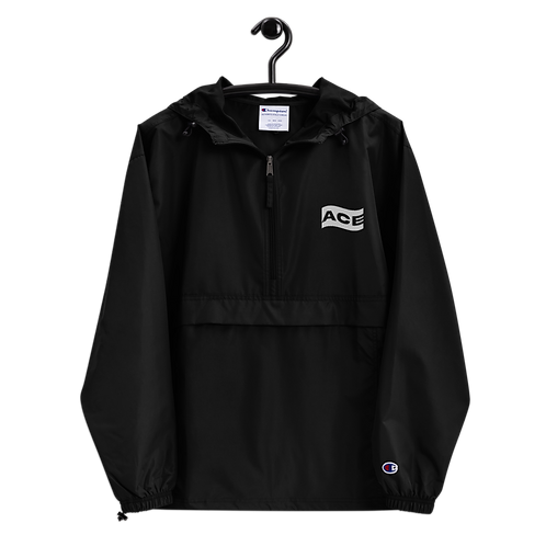 Ace Wavey Embroidered Champion Packable Jacket