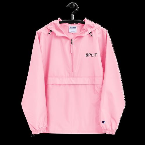 Split Embroidered Champion Packable Jacket