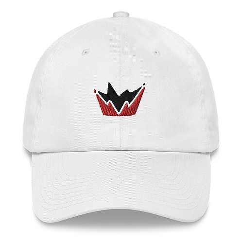 Talent Red & Black Logo Embroidered Dad hat