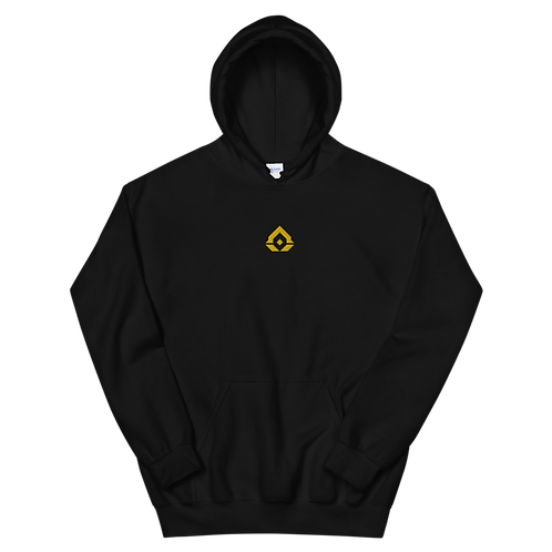Gold Embroidered Unisex Hoodie