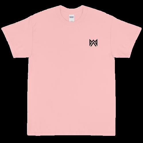 Mayhem Black Logo Emrbroidered Short Sleeve T-Shirt