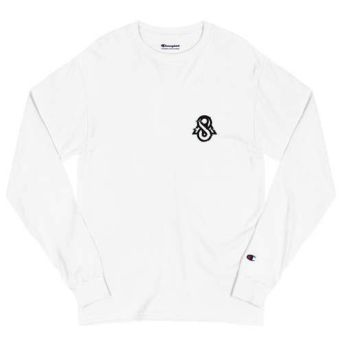 Spectral Glitched Men's Champion Long Sleeve Shirt