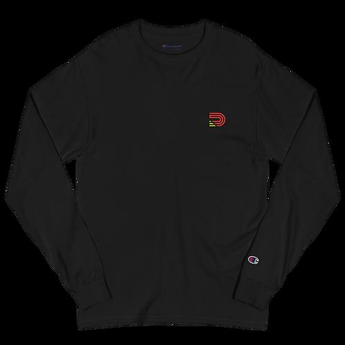 Dood Cave Men's Champion Long Sleeve Shirt