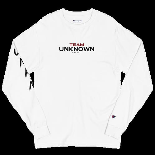 Team Unknown (Arm Design) Men's Champion Long Sleeve Shirt