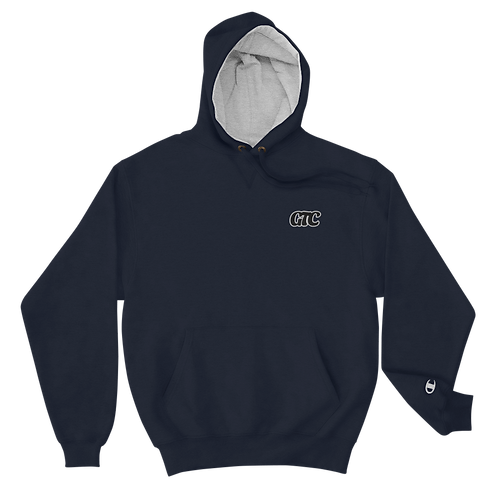 Black GTC Embroidered Champion Hoodie