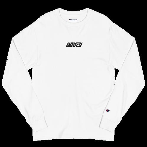 Kodey Embroidery Men's Champion Long Sleeve Shirt