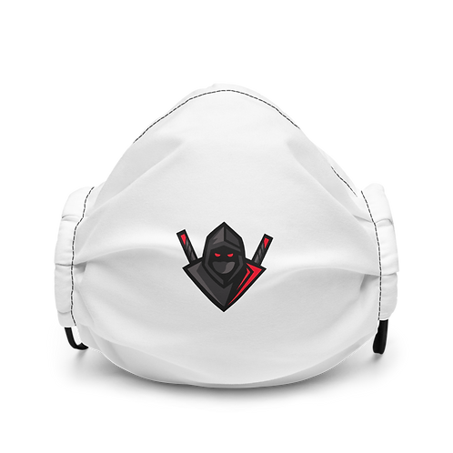 Unknown Badge Premium face mask