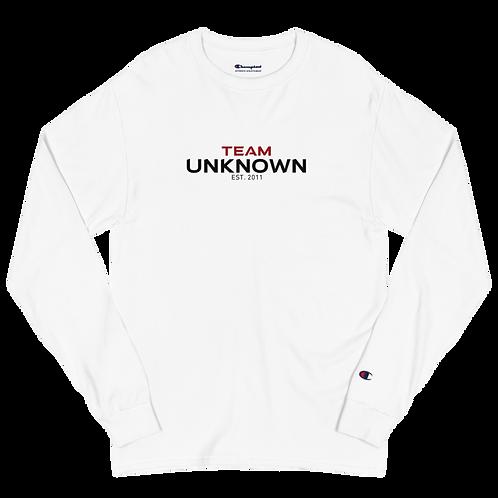 Team Unknown Men's Champion Long Sleeve Shirt