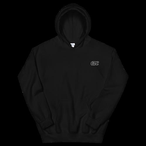Black GTC Embroidered Unisex Hoodie