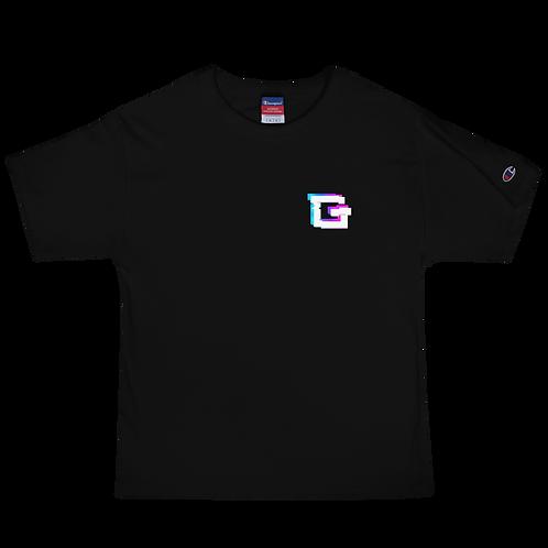 Glitch Men's Champion T-Shirt
