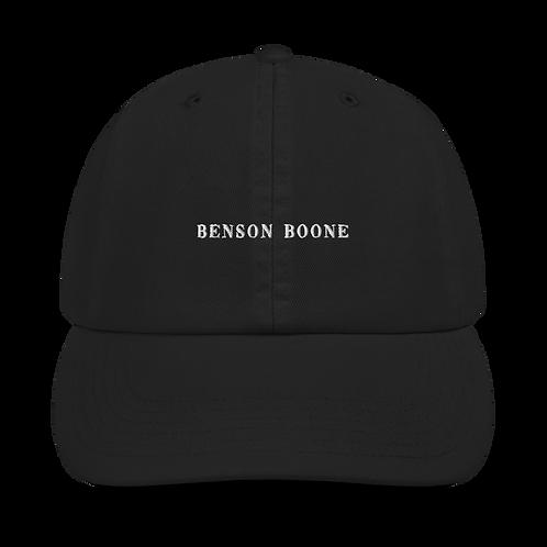 Benson Boone Embroidered Champion Dad Cap