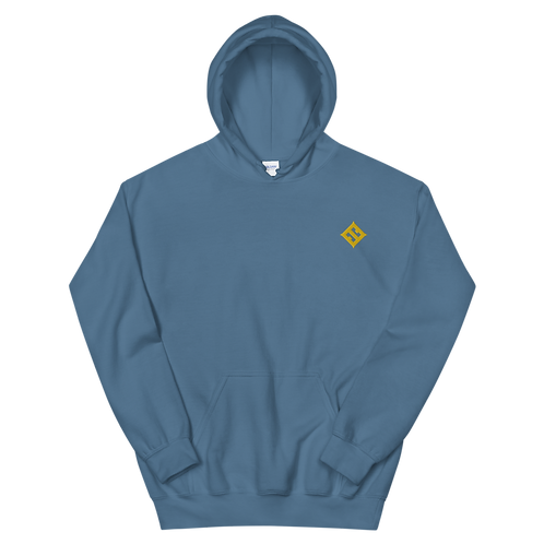 Esoteric Embroidered Brand Colors Unisex Hoodie
