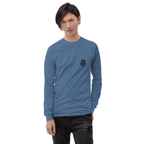 Spectral Glitched Long Sleeve Shirt