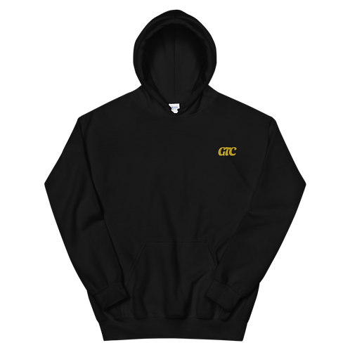 Gold GTC Embroidered Unisex Hoodie