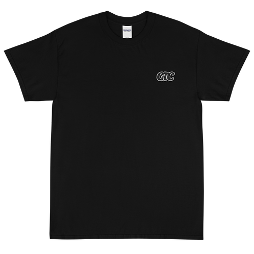 Black GTC Embroidered Short Sleeve T-Shirt
