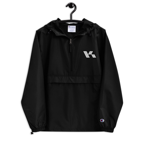 Kazzop Embroidered Champion Packable Jacket