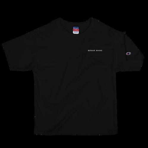 Benson Boone Embroidered Men's Champion T-Shirt