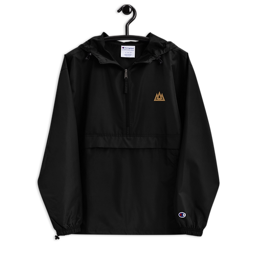 Poseidon Embroidered Champion Packable Jacket