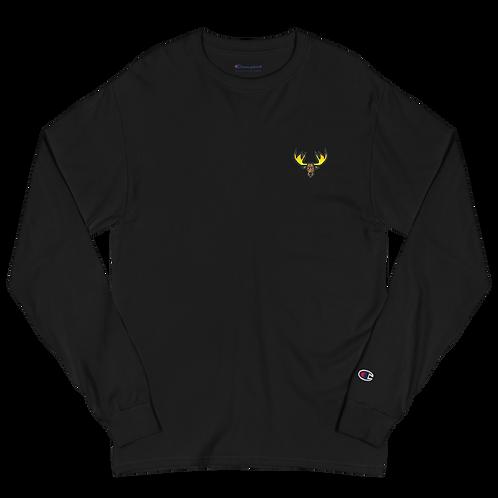Moose Men's Champion Long Sleeve Shirt