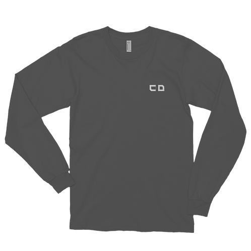 CD Embroidered Long sleeve t-shirt
