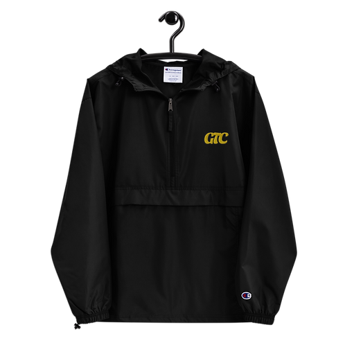 Gold GTC Embroidered Champion Packable Jacket