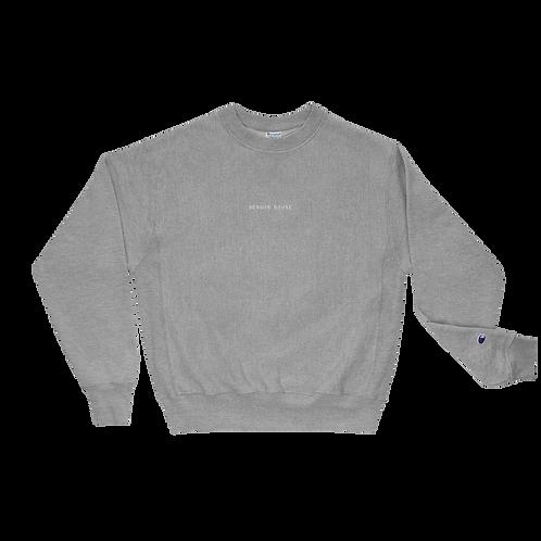 Benson Boone Embroidered Champion Sweatshirt