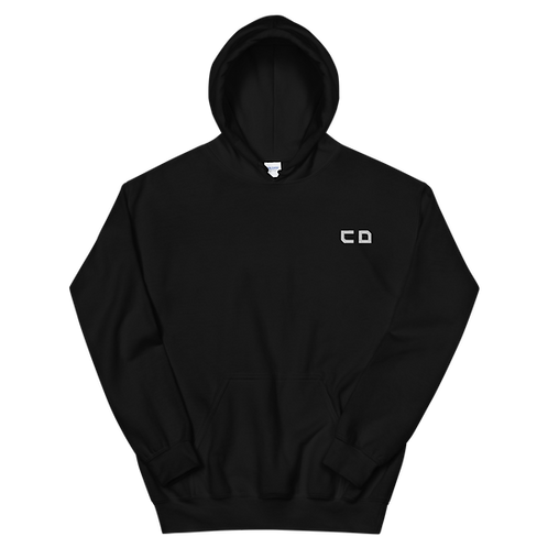 CD Embroidered Unisex Hoodie