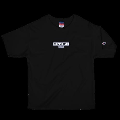 Omen Pixel Men's Champion T-Shirt