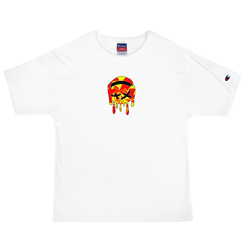 Dood Cave Melted Chest Men's Champion T-Shirt