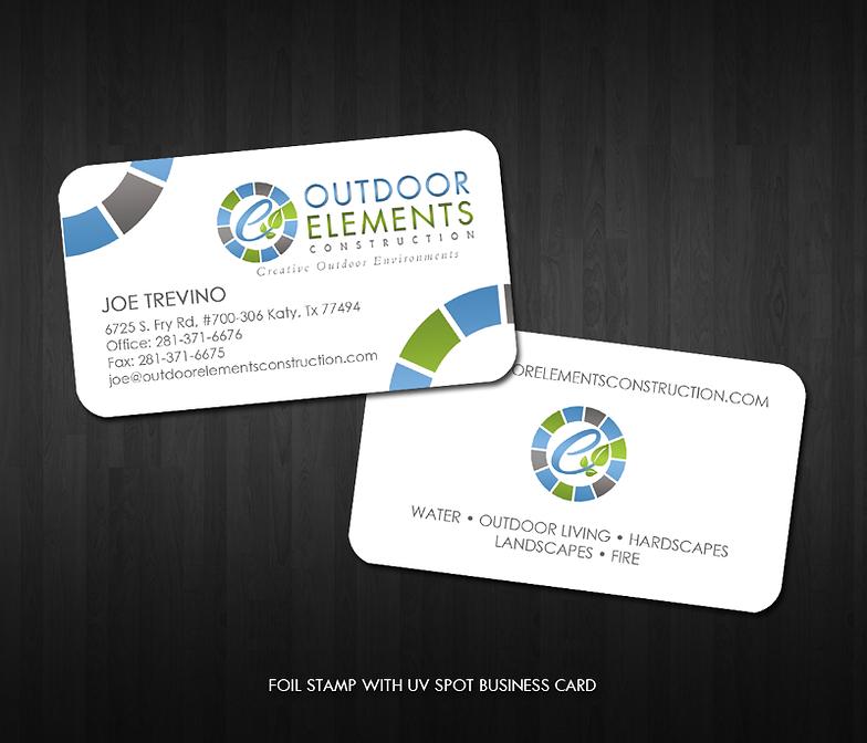 Postcard design business card design company colourmoves