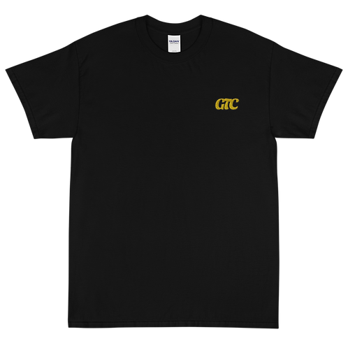 Gold GTC Embroidered Short Sleeve T-Shirt