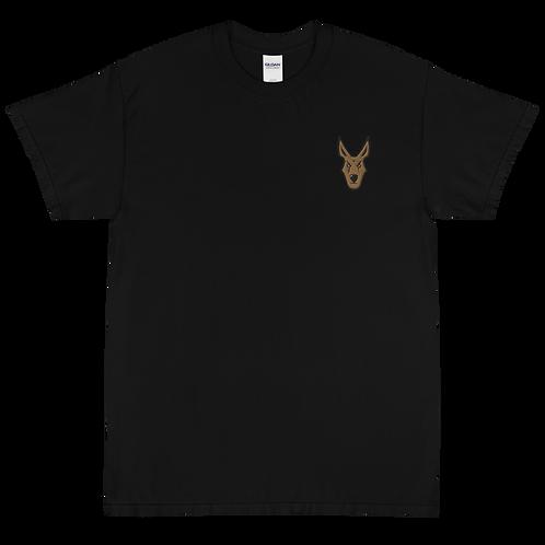 Prymillian Mascot Embroidered Short Sleeve T-Shirt