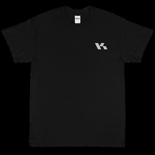 Kazzop Embroidered Short Sleeve T-Shirt
