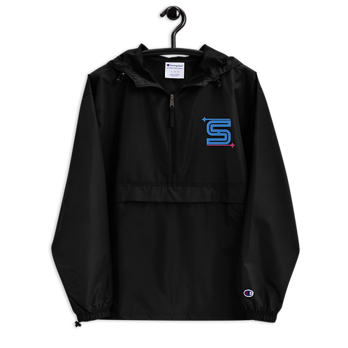 Syzygy Logo Embroidered Champion Packable Jacket