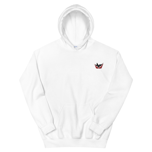 Talent Red & Black Logo Embroidered  Unisex Hoodie