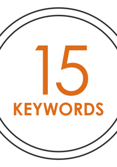 SEO - 15 KEYWORDS (monthly payment)