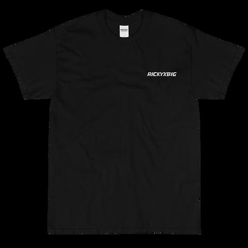 RickyXbig Embroidered Short Sleeve T-Shirt