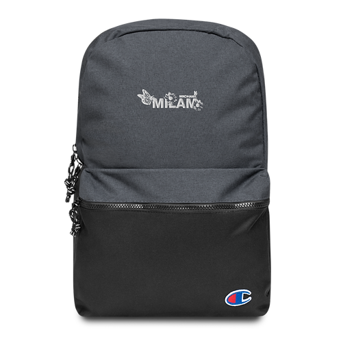 Milam Embroidered Champion Backpack