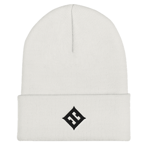 Esoteric Embroidered Cuffed Beanie