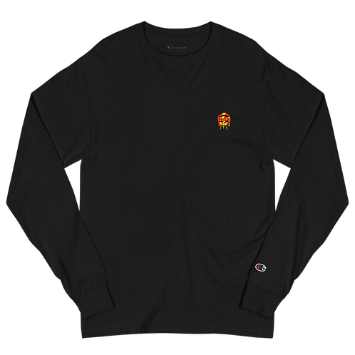 Dood Cave Melted Men's Champion Long Sleeve Shirt