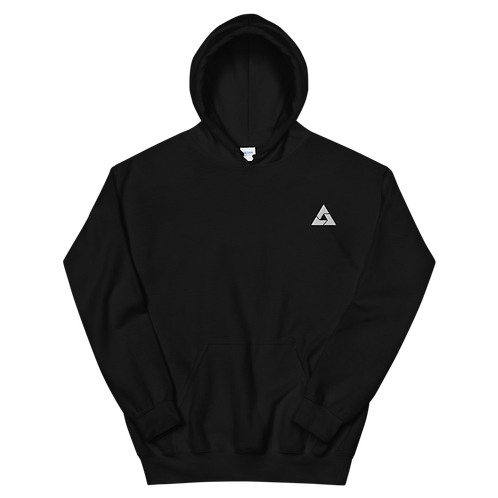 Ace White Embroidered Unisex Hoodie