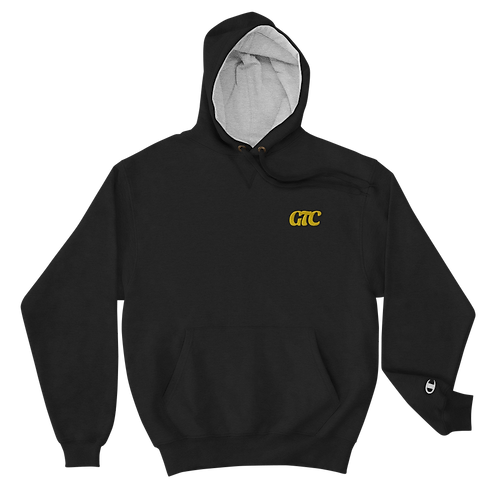 Gold GTC Embroidered Champion Hoodie