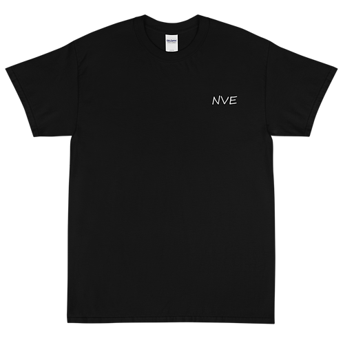 NVE White Embroidered Short Sleeve T-Shirt
