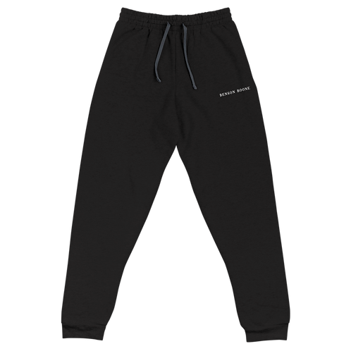 Benson Boone Embroidered Unisex Joggers