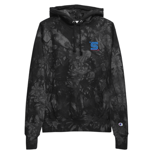 Syzygy Embroidered Unisex Champion tie-dye hoodie