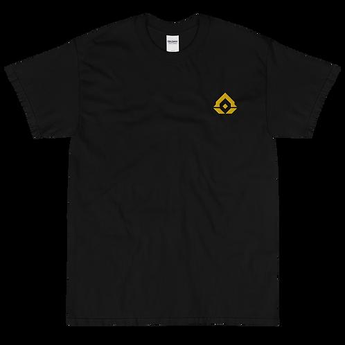 Assence Gold Embroidered Short Sleeve T-Shirt